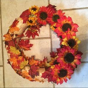 Other - Fall Sunflower Wreath